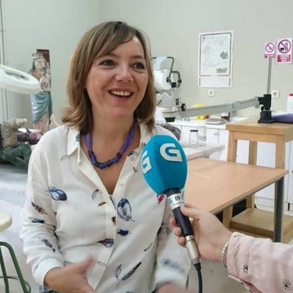 Reportaxe na Escola polo Día Europeo da Conservación Restauración