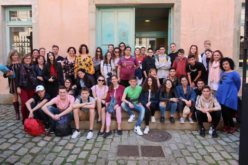 """Visita da Asociación """"Orientados ao patrimonio cultural e a inclusión dende unha mirada europea"""" (OPTIME)"""