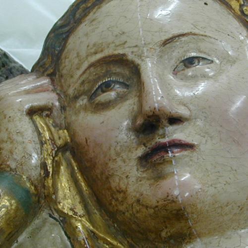 Restauración de retablo da Magdalena