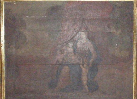 Restauración óleo sobre táboa