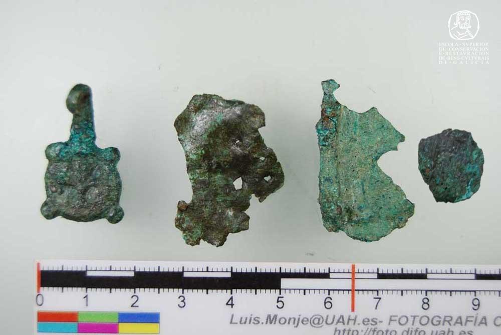 Metais do do Depósito Municipal Arqueolóxico de Lugo