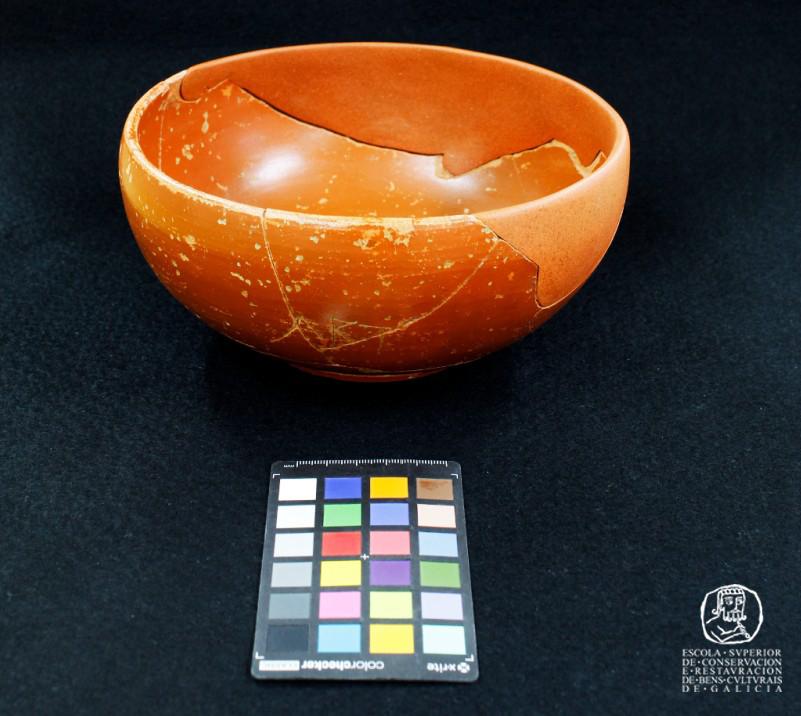 Cerámicas e vidros do Depósito Municipal Arqueolóxico de Lugo