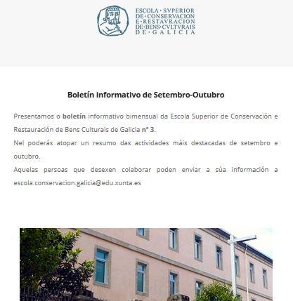 Boletín Setembro-Outubro