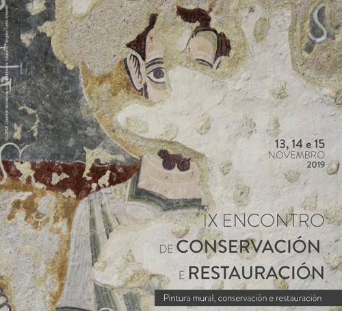 IX Encontro de Conservación e Restauración