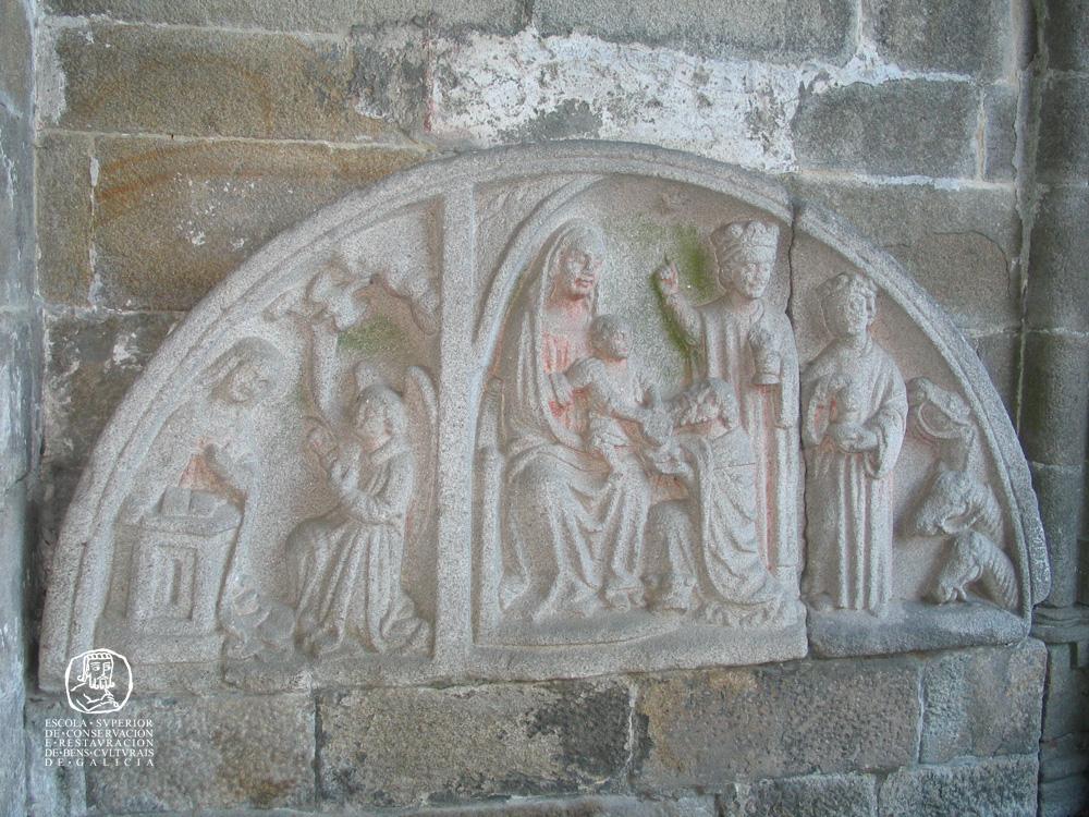 Tímpano de Santa María