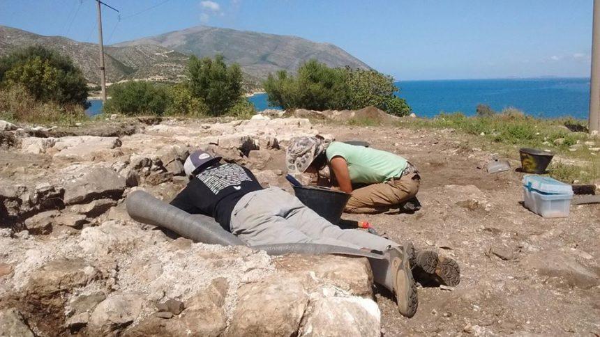 Excavación de Orikum, Albania