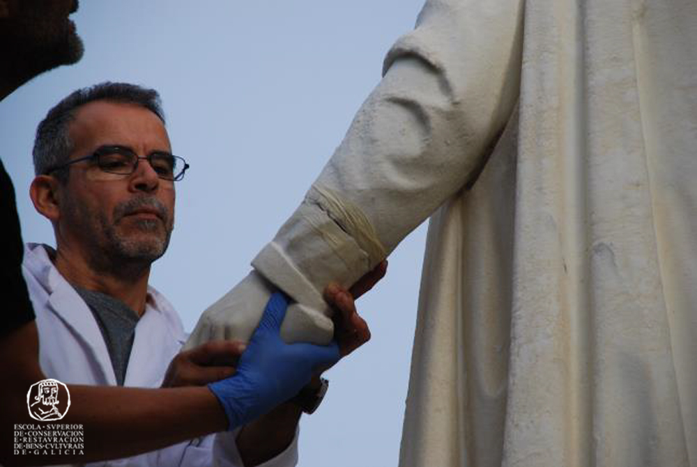 Escultura de Colón
