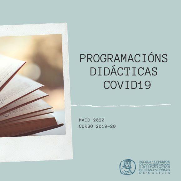 Programacións Covid19