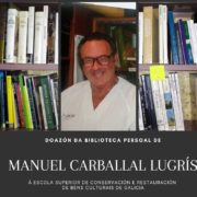 Donación de la biblioteca de D. Manuel Carballal Lugrís