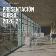 Presentación do curso 2020-21