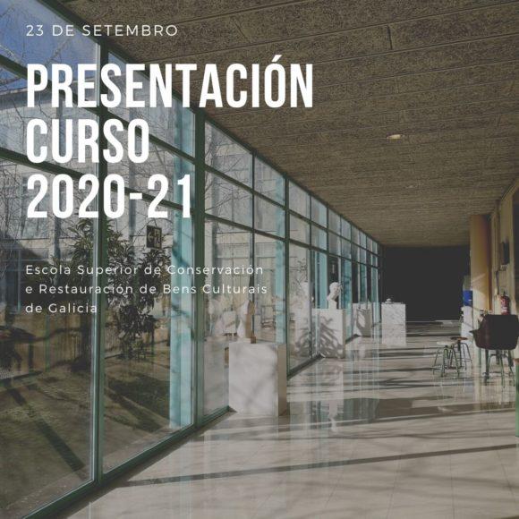 Presentación del curso 2020-21