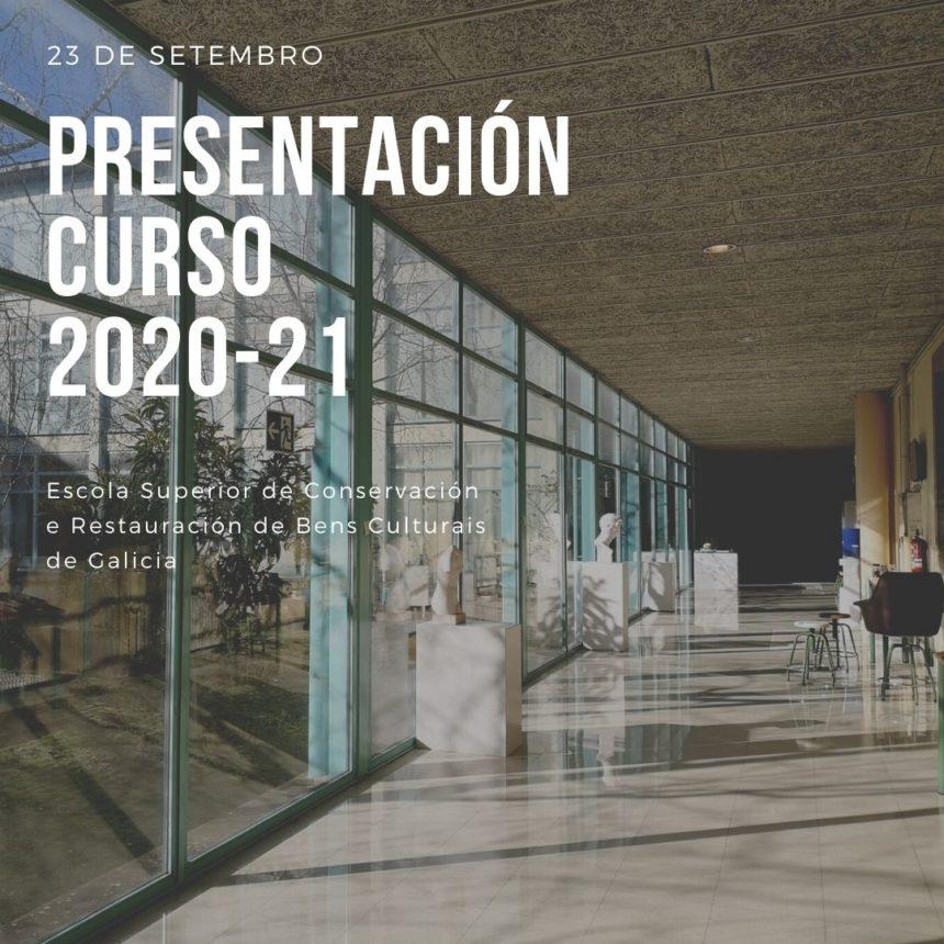 Presentación curso 2020-21