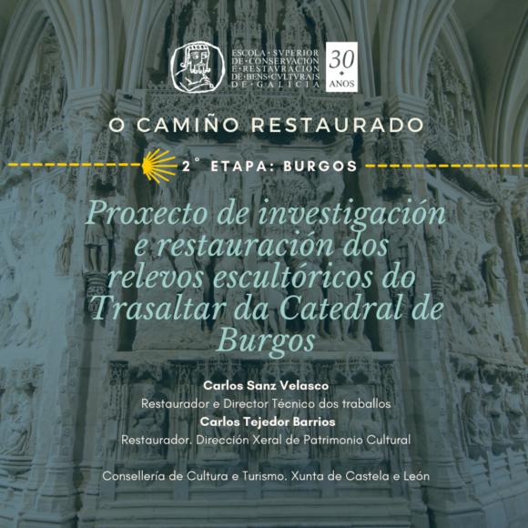 Conferencia: O camiño restaurado. Burgos